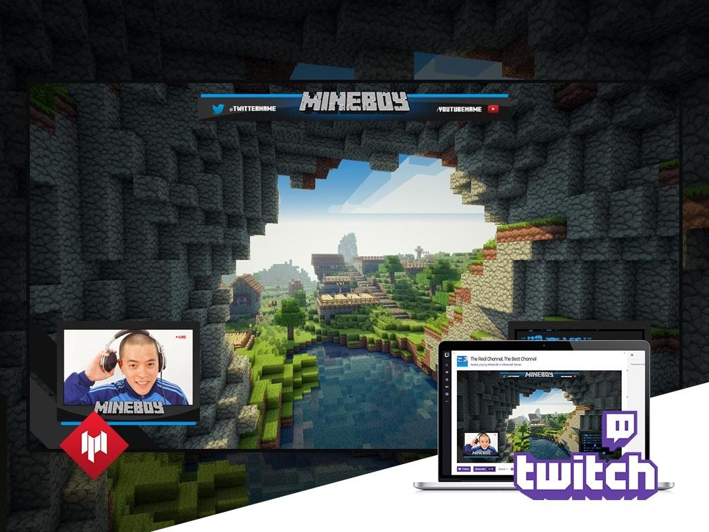 live stream overlay pack