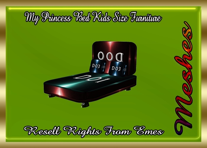 My Princess Bed Kids Size Furniture Catty Only!!!