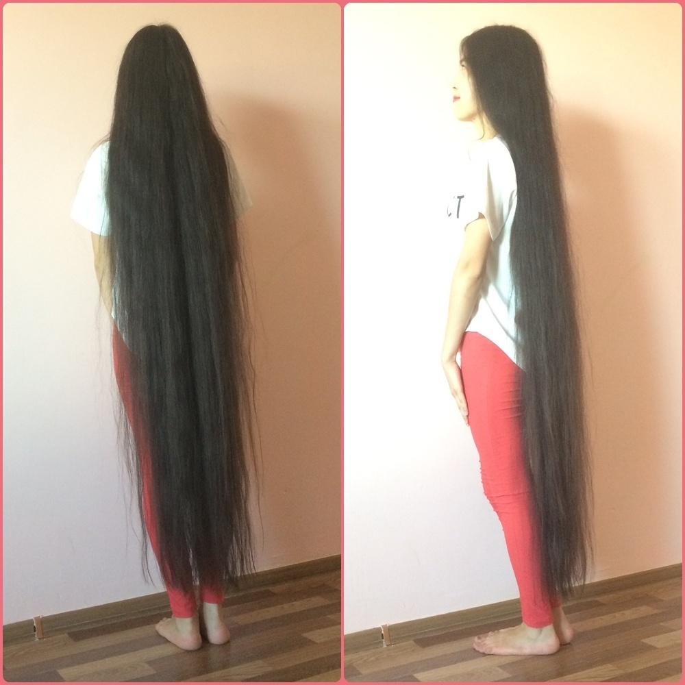 Ankle Length Hair Beauty - Aiman Ersoventova