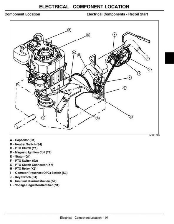 John Deere Commercial Walk-Behind Mower 7G18 (SN from 020001) Technical Manual (tm2220)
