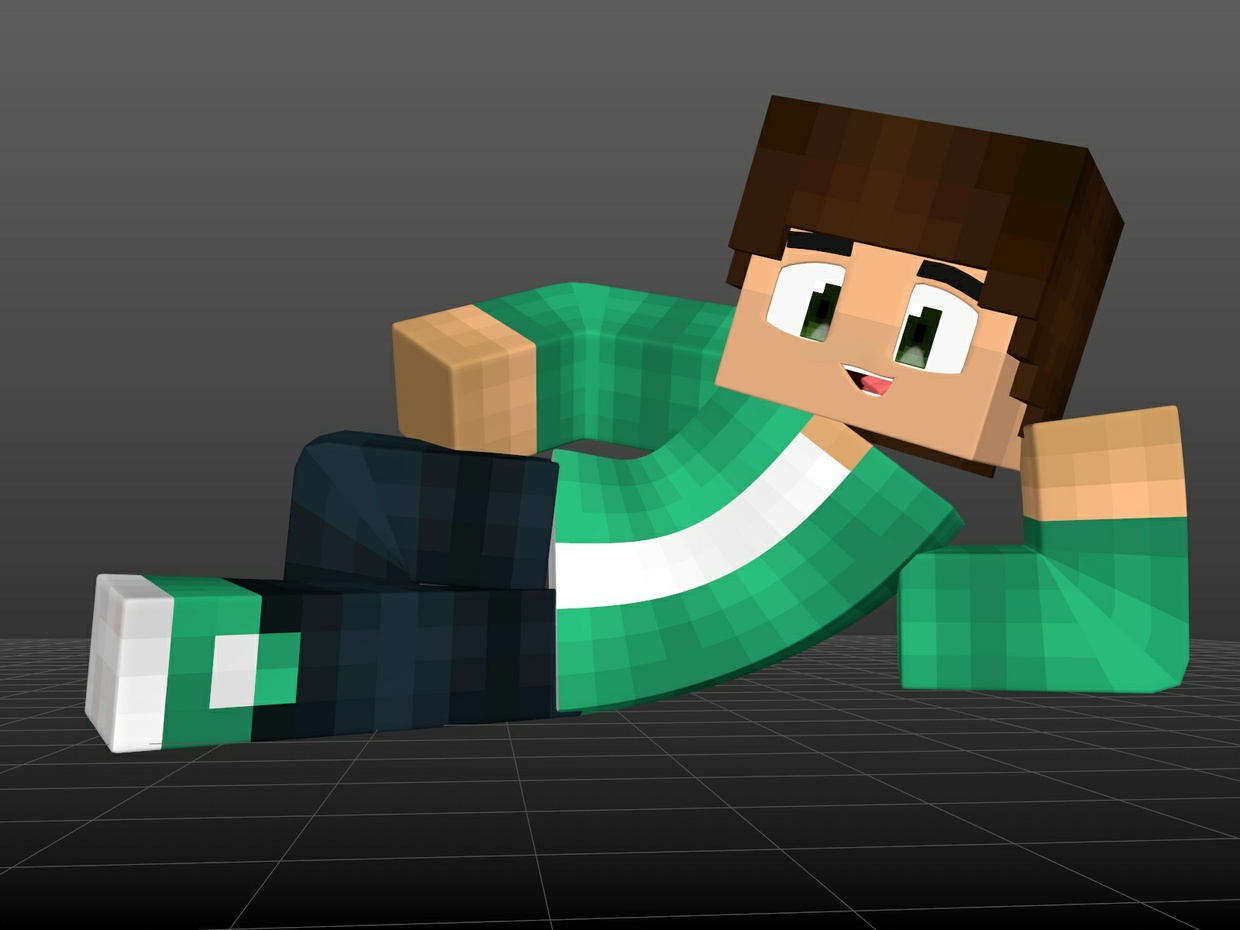 Private Minecraft Rig for C4D