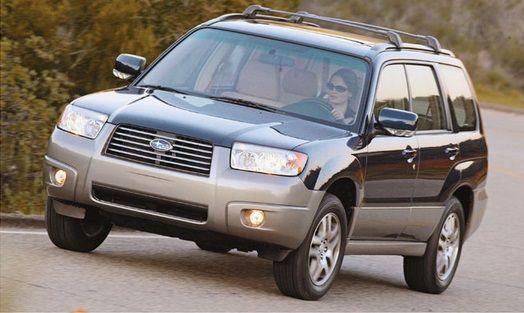 Subaru Forester (2005-2008) Workshop Service Repair Manual