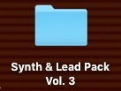 Synth & Lead Pack Vol. 3 (OPUS EX8)