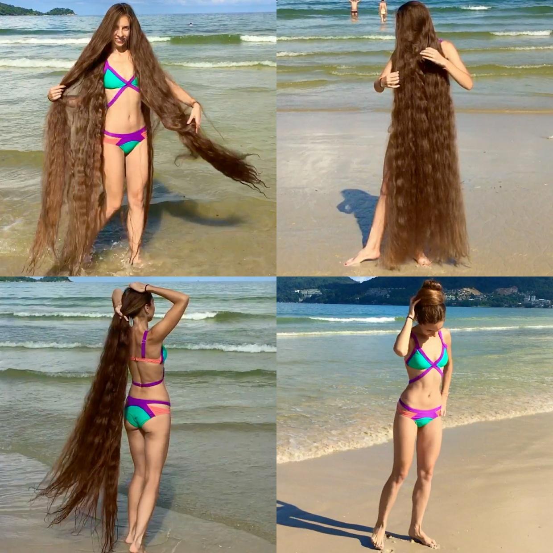 VIDEO - Bikini Rapunzel