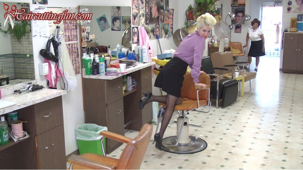 Kat's Tip Top and Other Metal Curlers Roller Set and Comb Out - VOD Digital Video on Demand