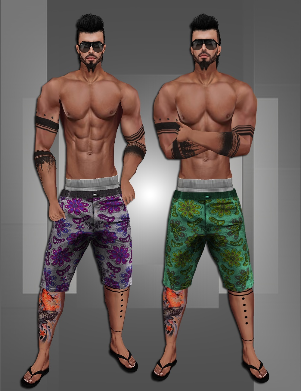 Street Tatto Shorts