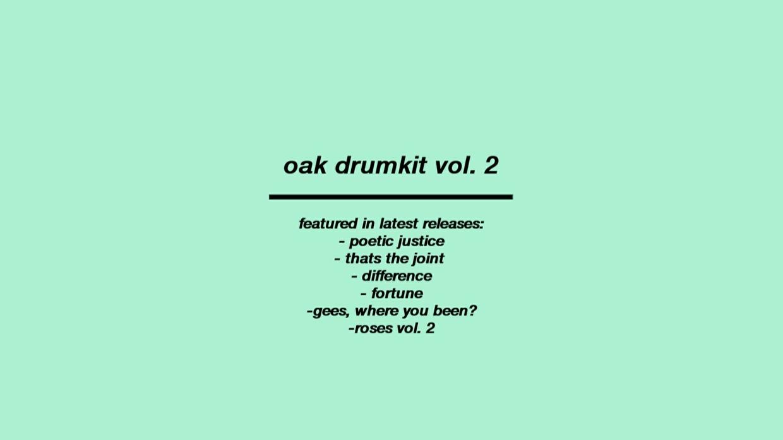 oak drumkit vol. 2