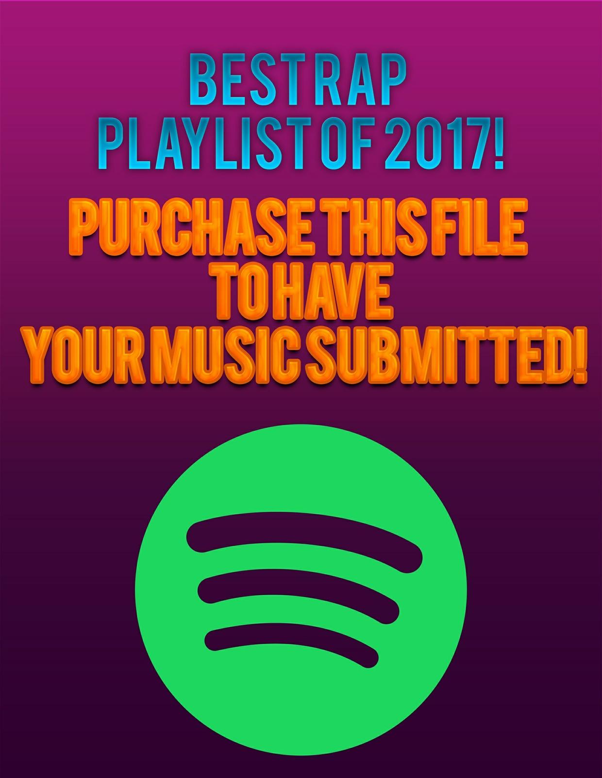 1 Week Spotify Playlist Spot
