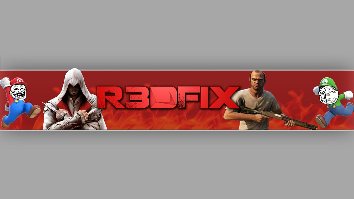 באנר ולוגו גיימינג לבחריתכם//Banner And Logo Gaming