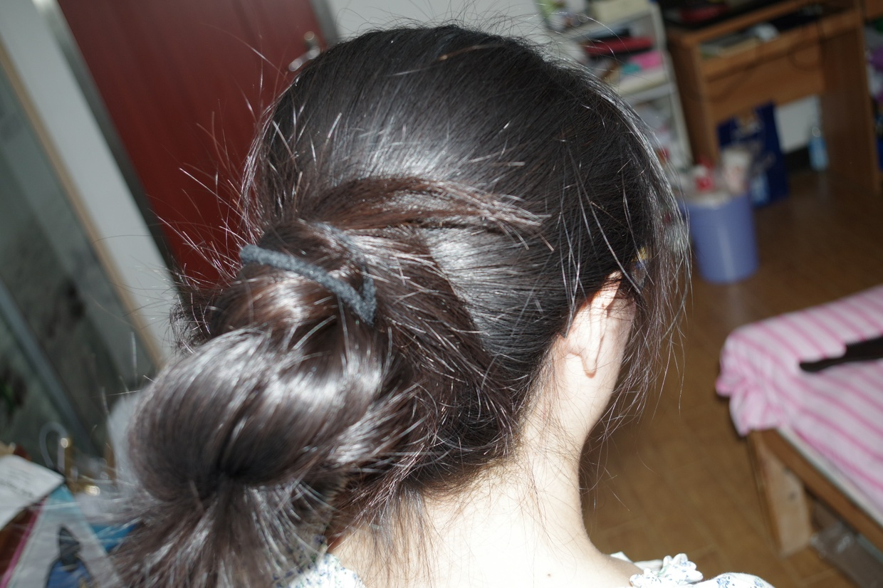 thick ponytail cut