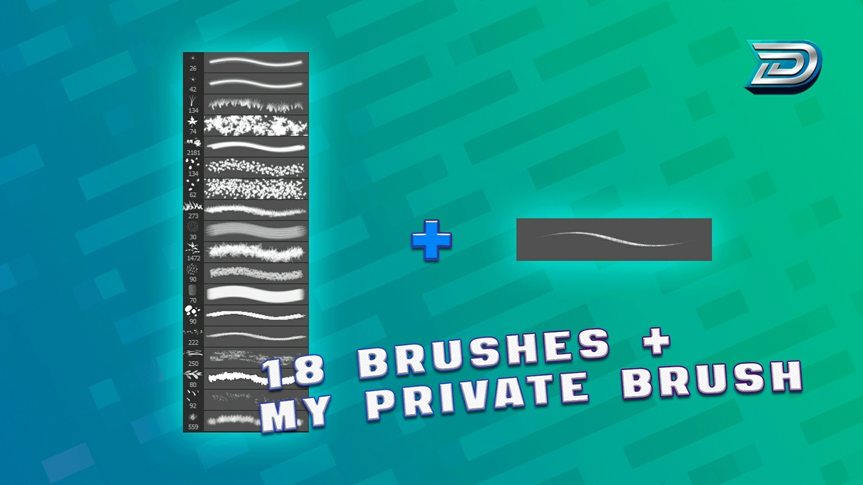 [LITTLE] Brush Pack + My PRIVATE Brush (+TUTORIAL)