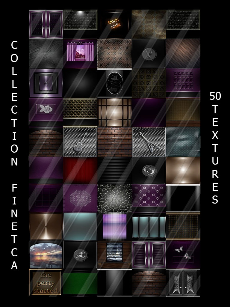 COLLECTION FINETCA 50 TEXTURES ROOM