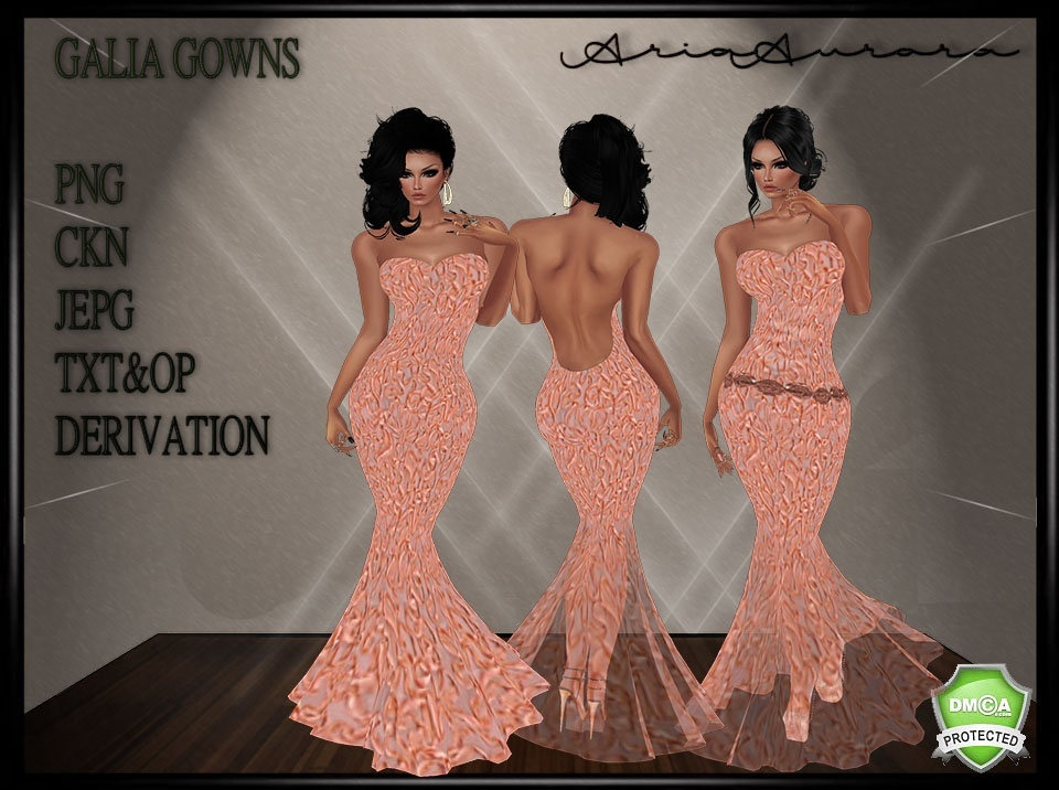 GALIA GOWN,NO RESELL!!!