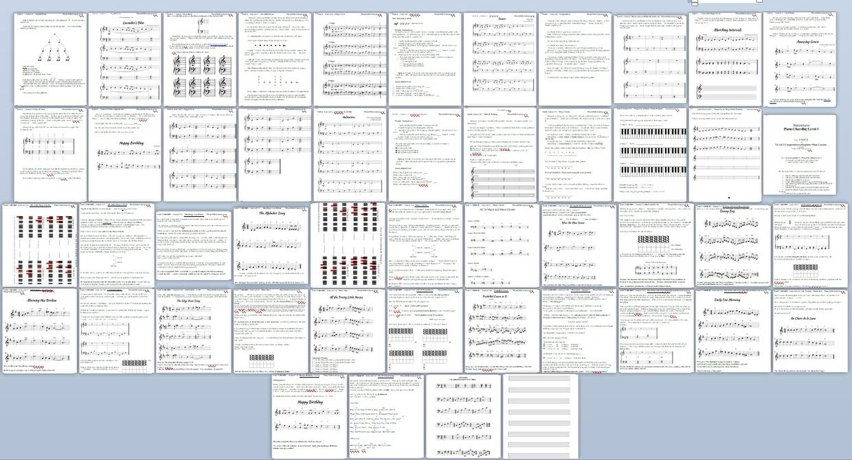 Year 1 Unit 4-5 Bundle [PianoVideoLessons]