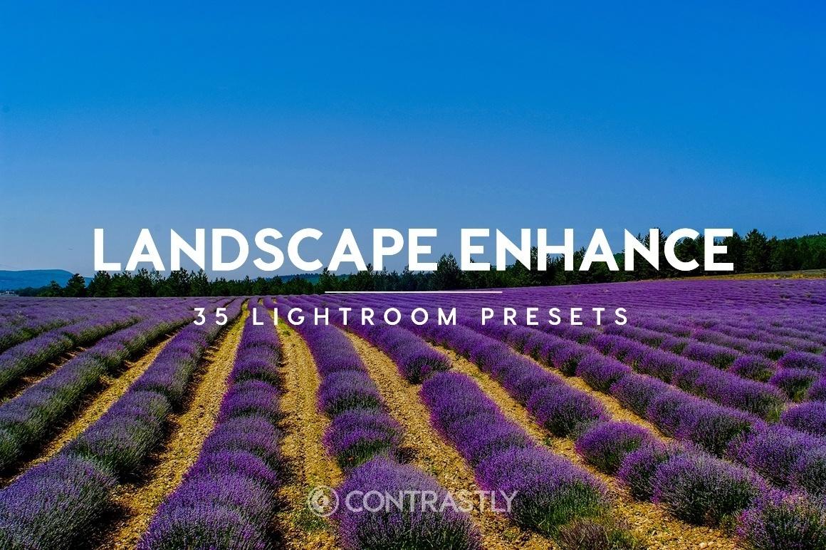 Landscape Enhance Lightroom Preset