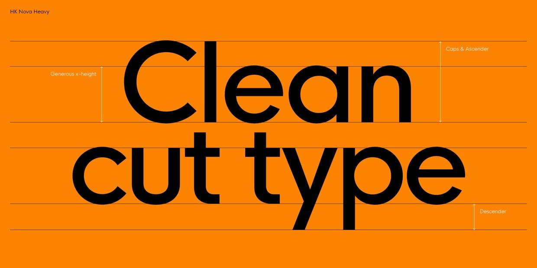 HK Nova™ Medium Free Font