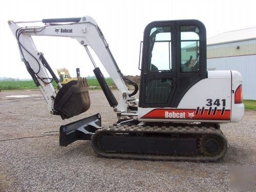 Bobcat 337, 341 Compact Excavator Service Repair Manual DOWNLOAD (S/N AAC811001 & Above...)