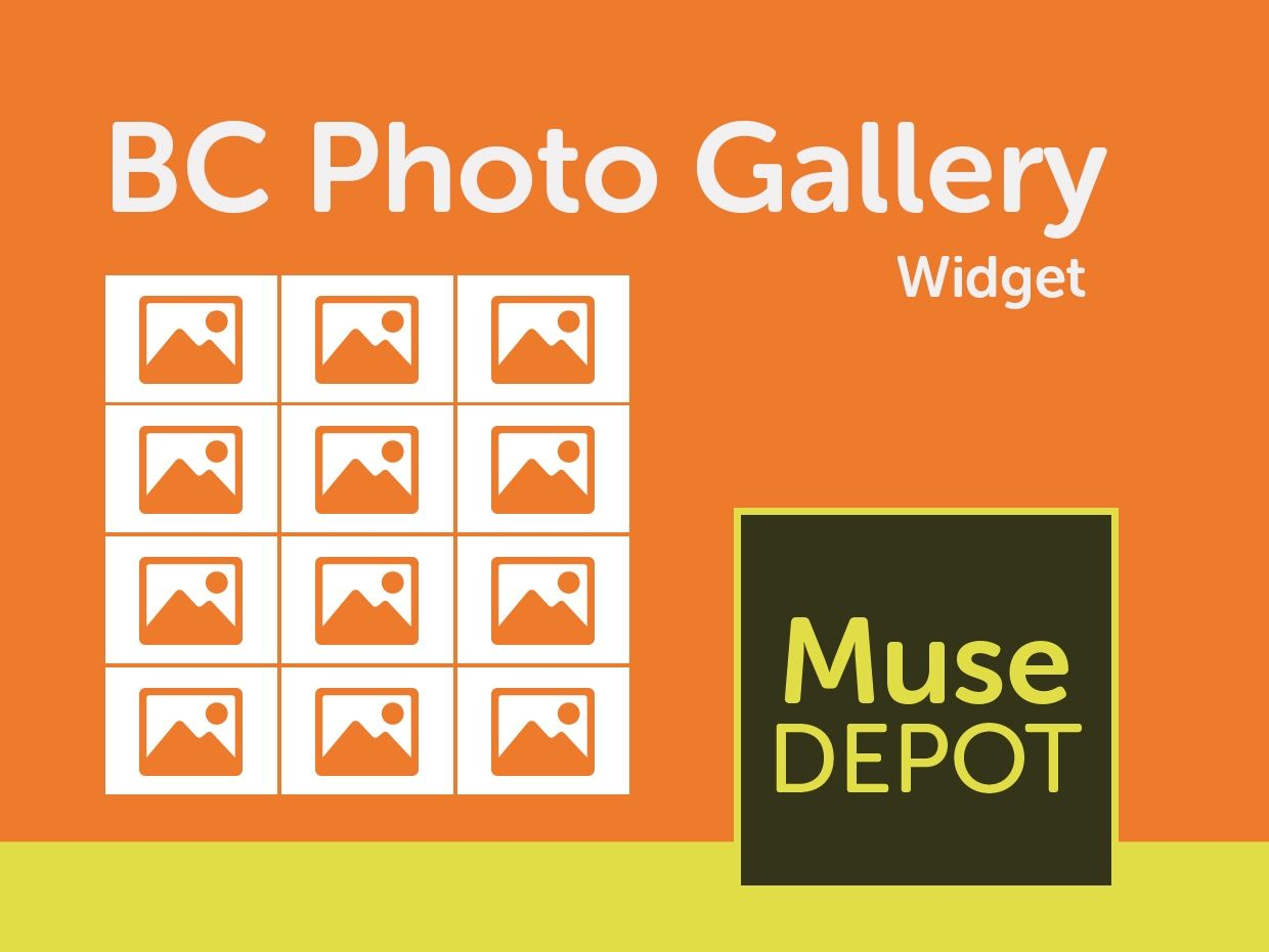 BC Photo Gallery - Muse Widget