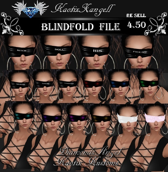 Blindfold File WITH RE SELL RIGHTS