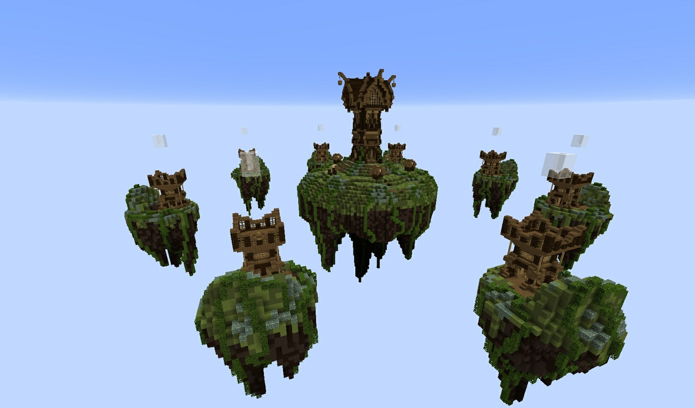 Medieval 'Tower' Skywars map