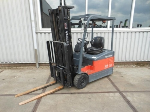 Toyota 7FBEF15, 7FBEF16, 7FBEF18, 7FBEF20 Series Electric Forklift Service Repair Manual