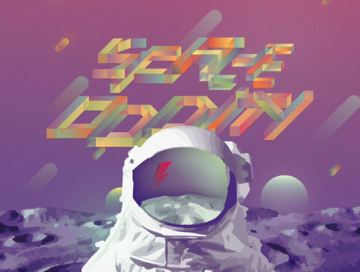 SPACE ODDITY FONT