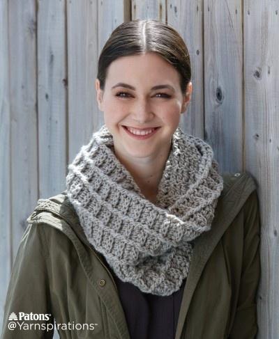 Wafflin' Crochet Cowl