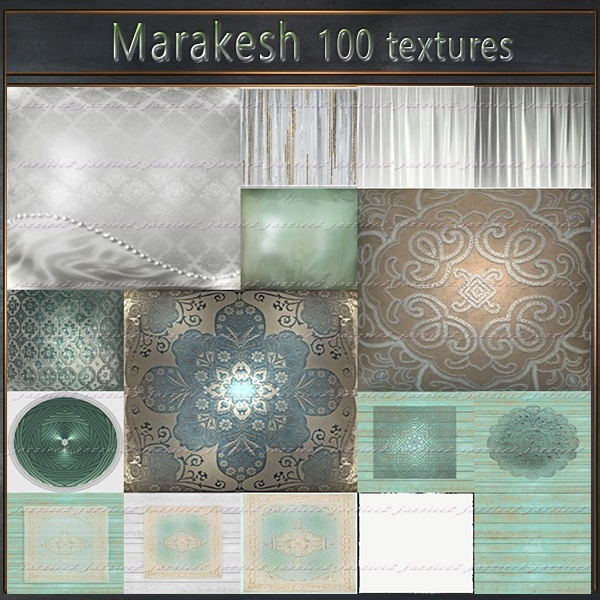 Marakesh 100 textures