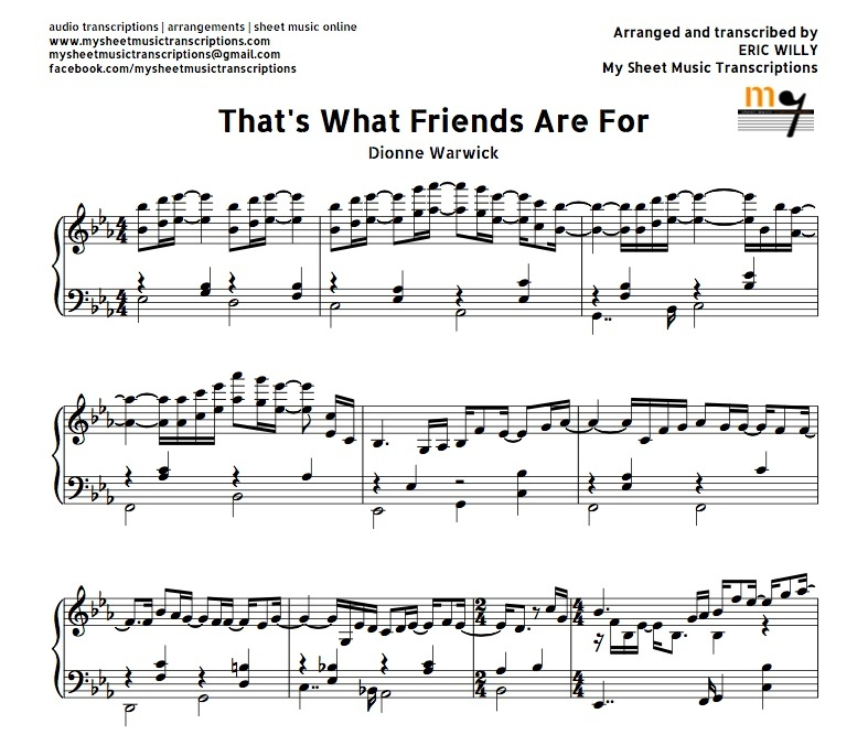just a friend sheet music pdf