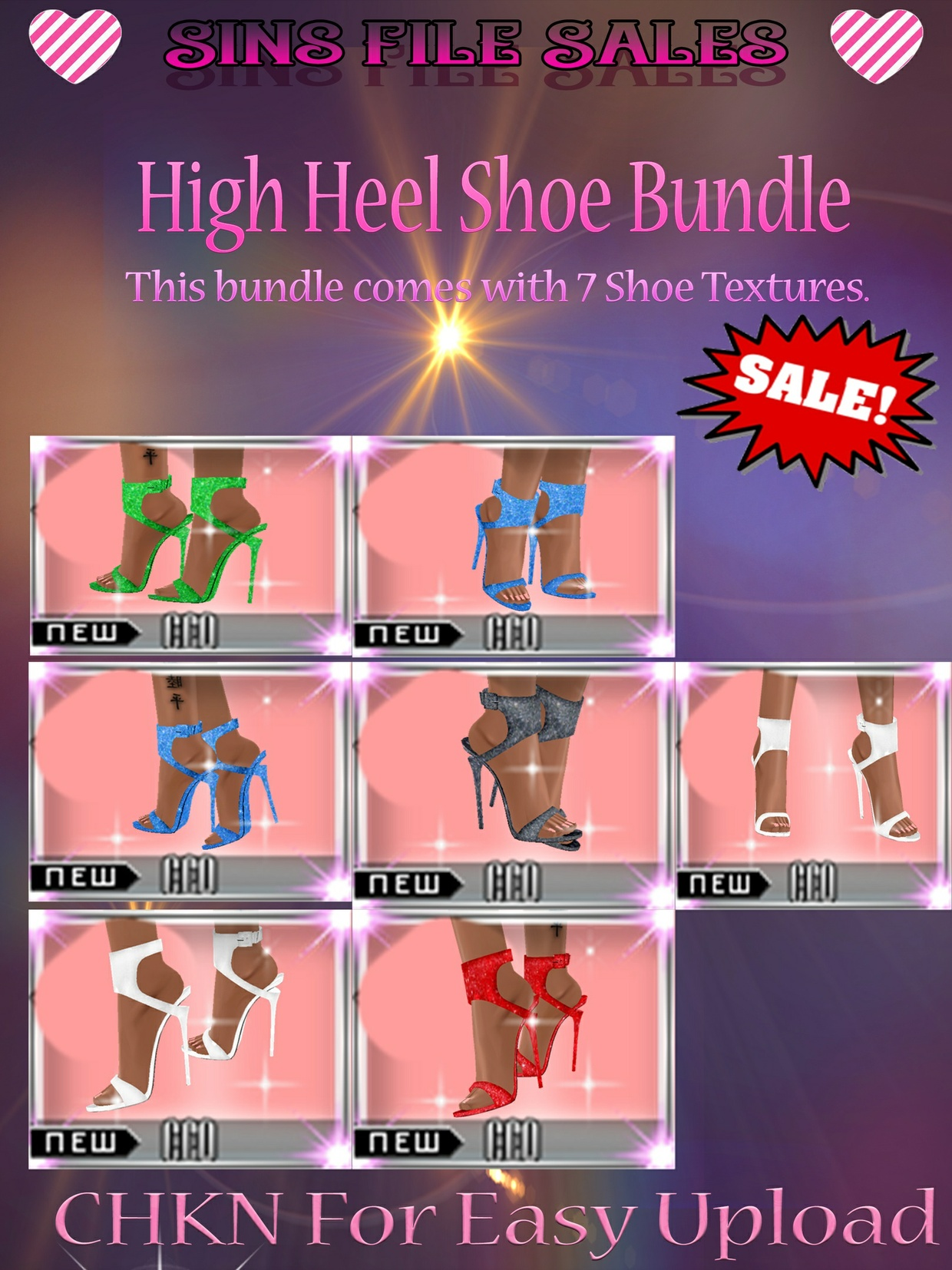 High Heel Shoe Bundle