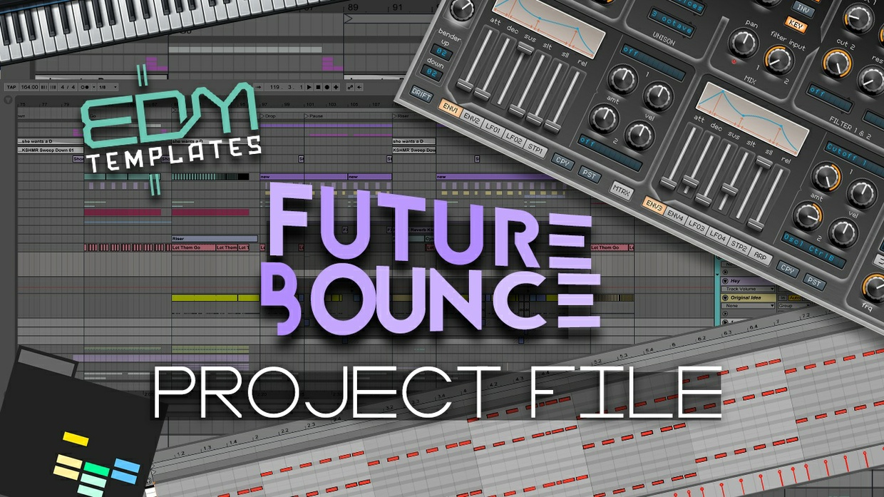 Ableton Live Future Bounce Template 31.12