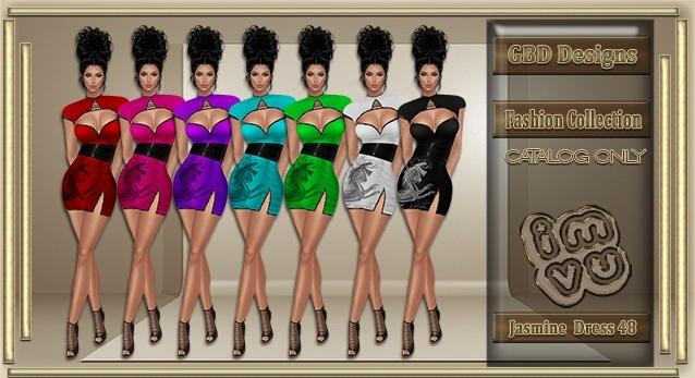 Jasmine Dress 48 CATALOG ONLY