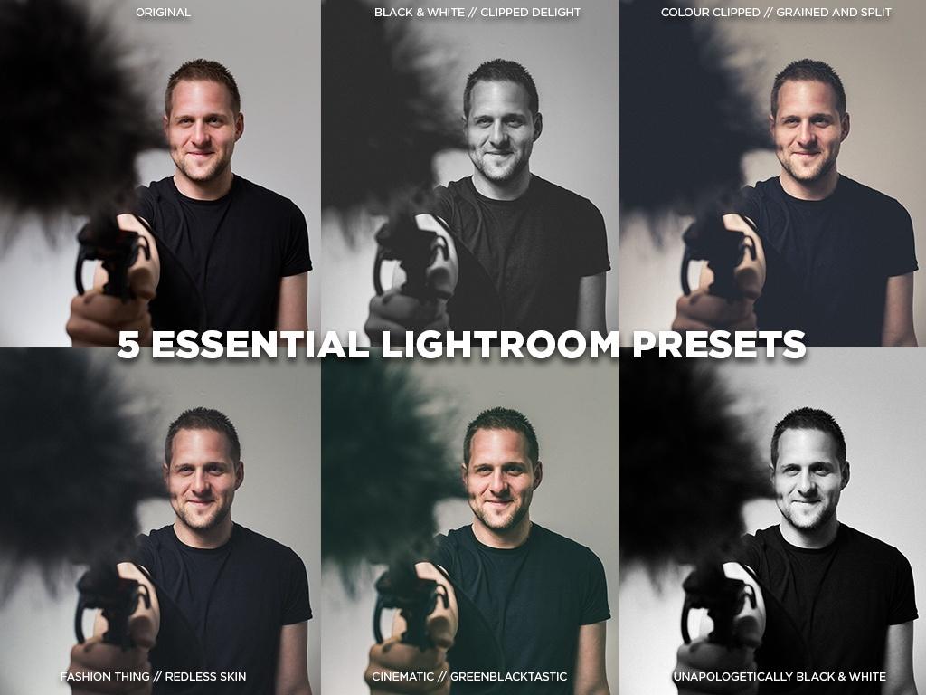 5 Essential Lightroom Presets by DOD Media