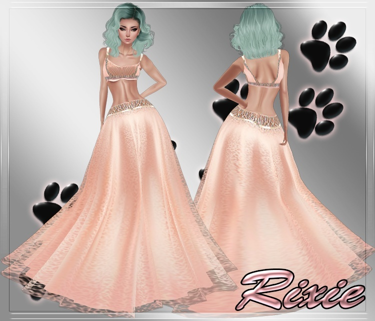 Ella Peach Dress