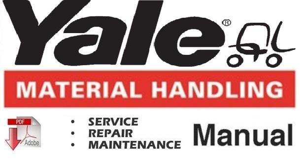Yale ERC 025-030-040 AC, ERP 020-025-030 AC, ERC 030-040 BC, ERP 030-040 BC Lift Truck SM