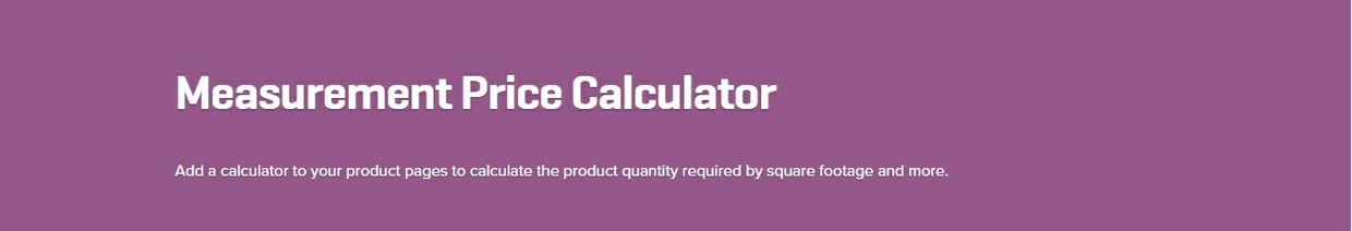 WooCommerce Measurement Price Calculator 3.12.1 Extension