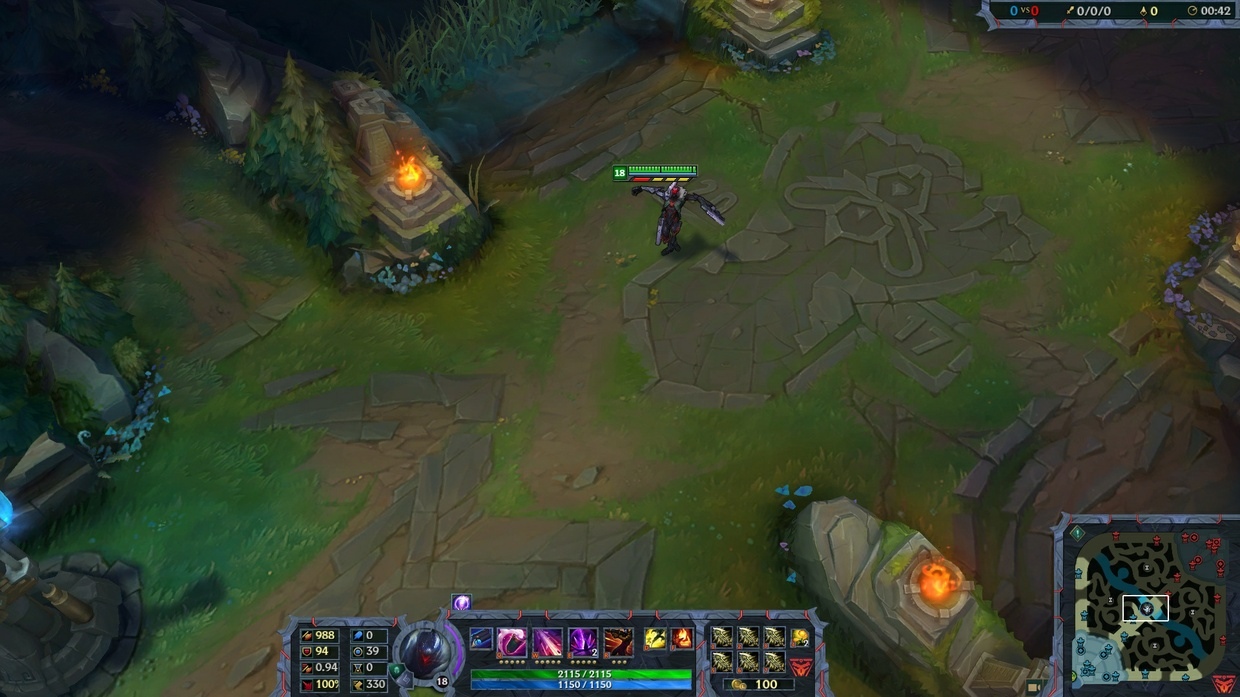PROJECT JHIN - STREAM OVERLAY