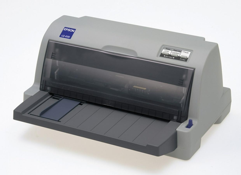 Epson LQ-630, LQ-630K 24-Pin Serial Impact Dot Matrix Printer Service Repair Manual