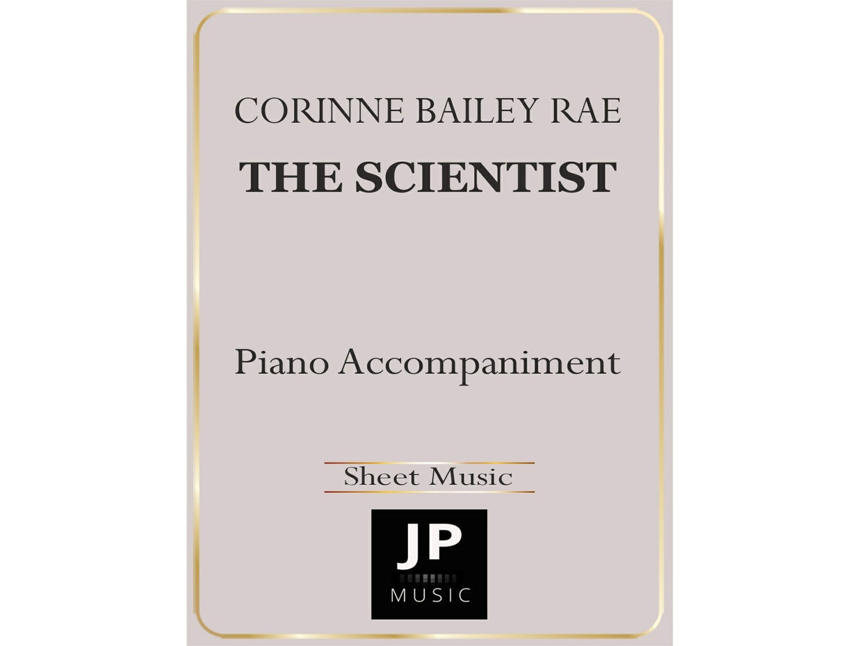 The Scientist - Piano Accompaniment
