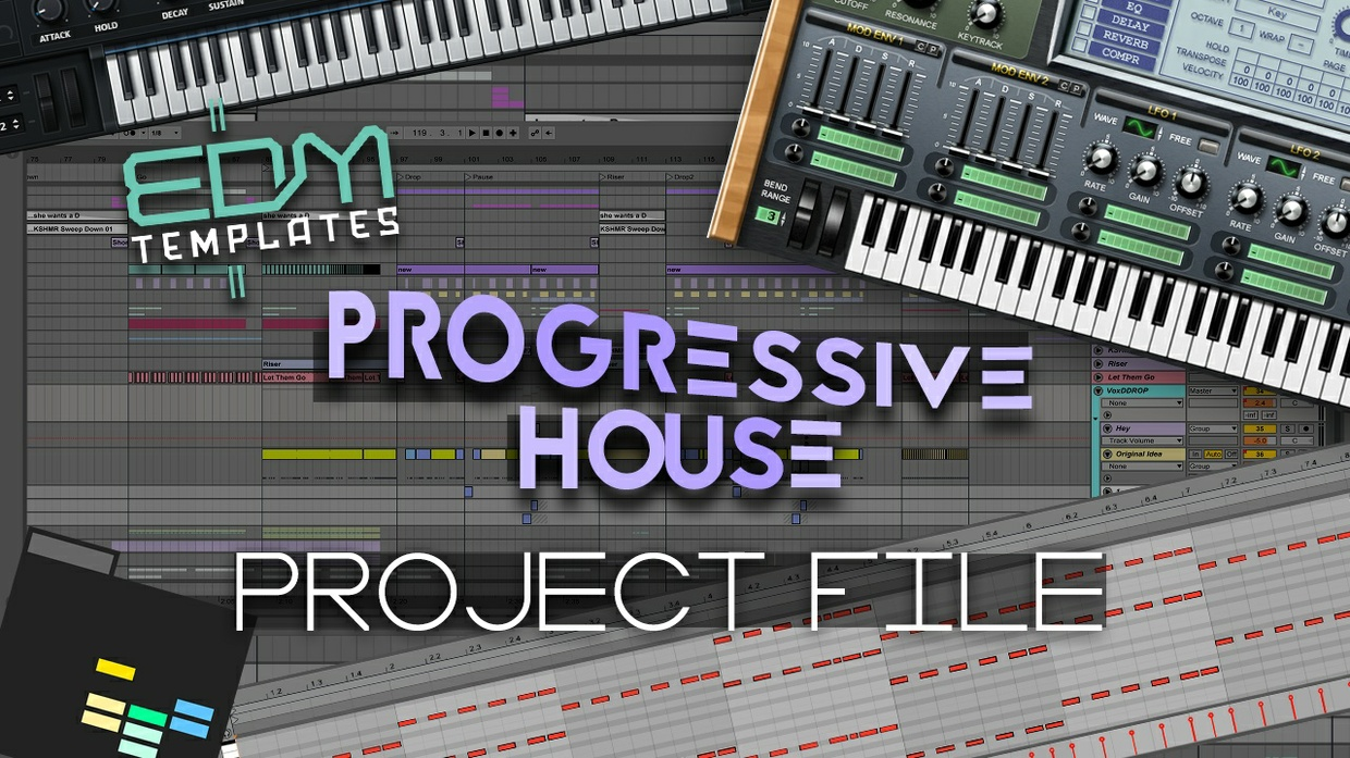 Ableton Live Progressive House Template 04.04