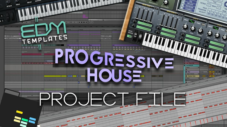 Ableton Live Progressive House Template - Project File - Dannic Dubvision Martin Garrix