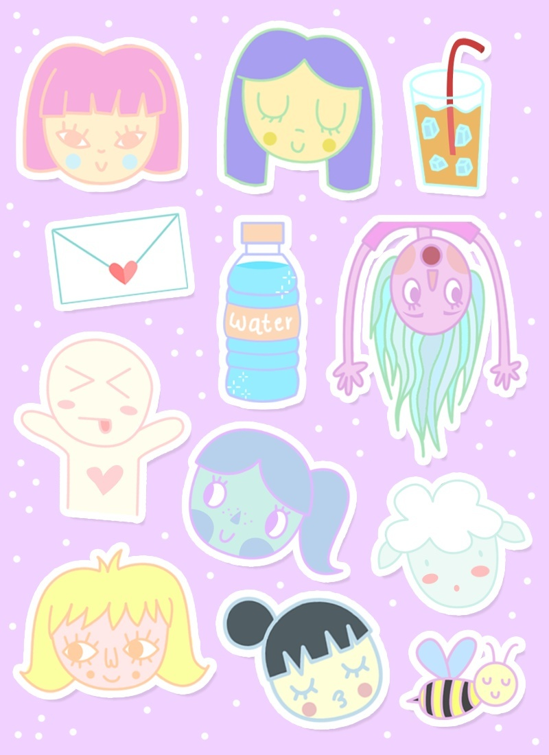 Snipped Stickers! (1)