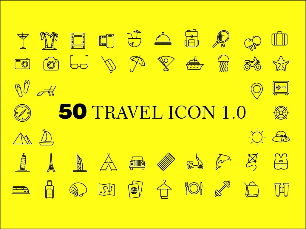 50 Travel icon 1.0