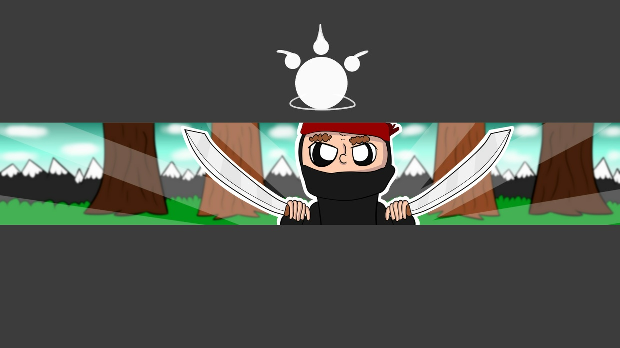 Minecraft Drawn Banner