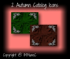2 Autumn Catalog Icons
