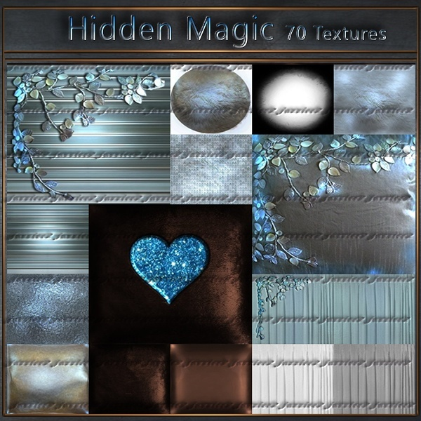 Hidden Magic 70 textures