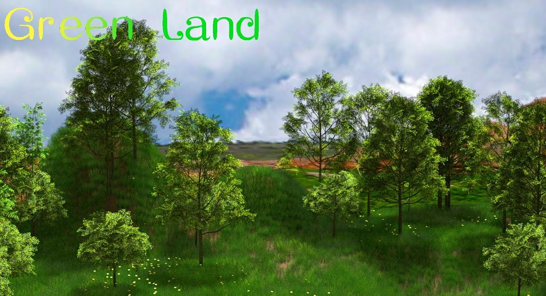 green_land v0.1.3(windows x64 only) of blender addon