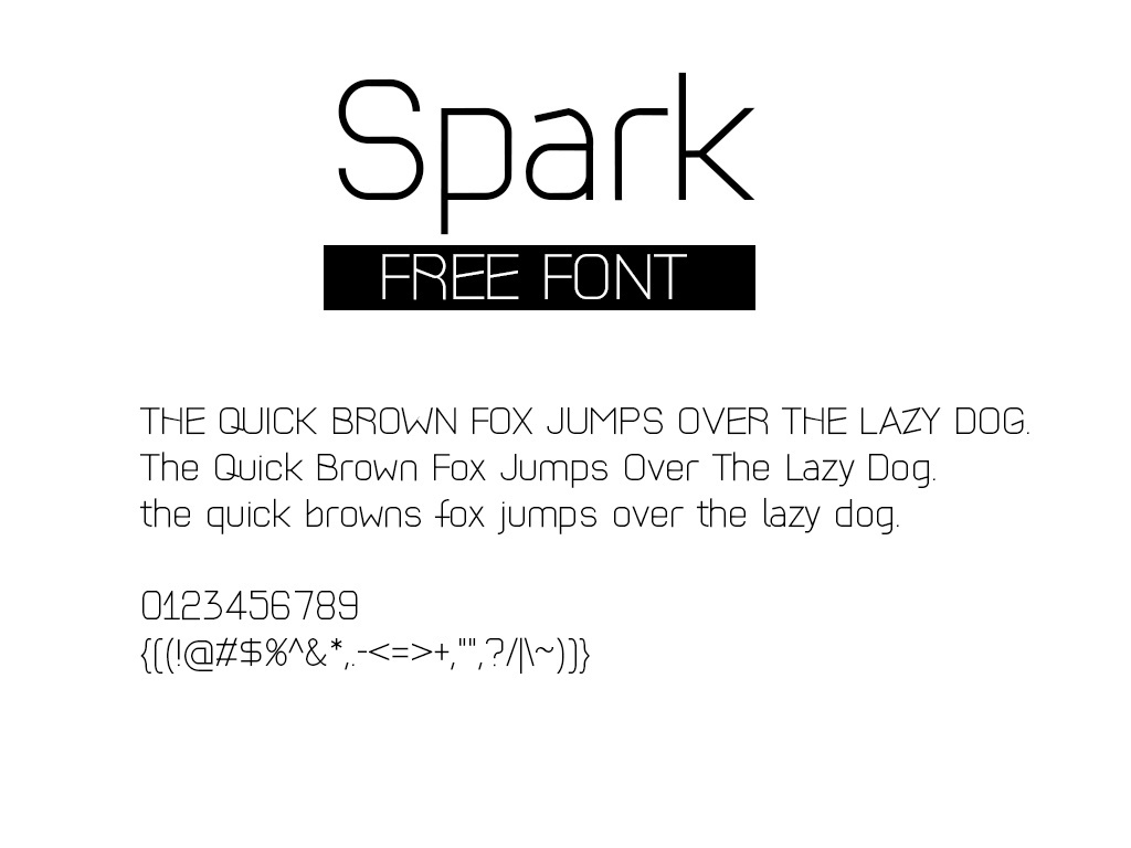 designcoon personal and commercial use designcoon modern font spark
