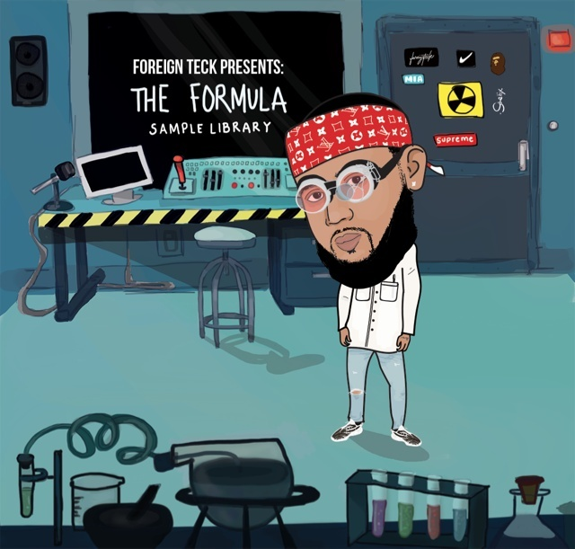 Foreign Teck Presents: The Formula Sample Library