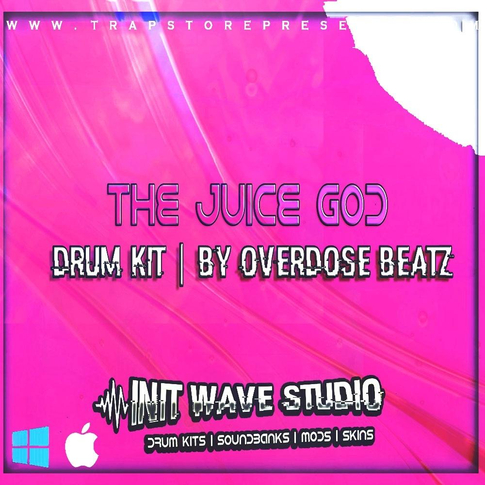 INIT WAVE STUDIO X OVERDOSE - JUICE GOD DRUM KIT